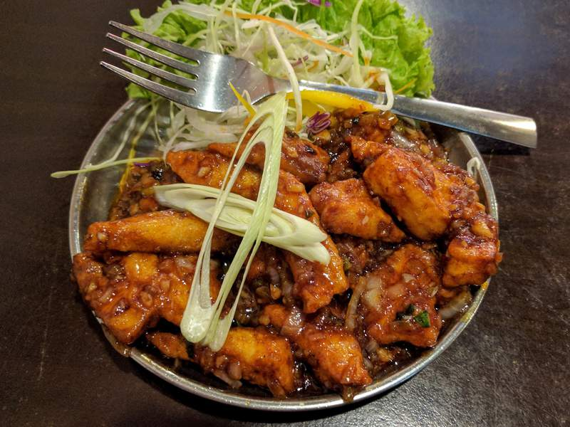 Manchurian Fish: sticky, succulent &amp&#59; superb